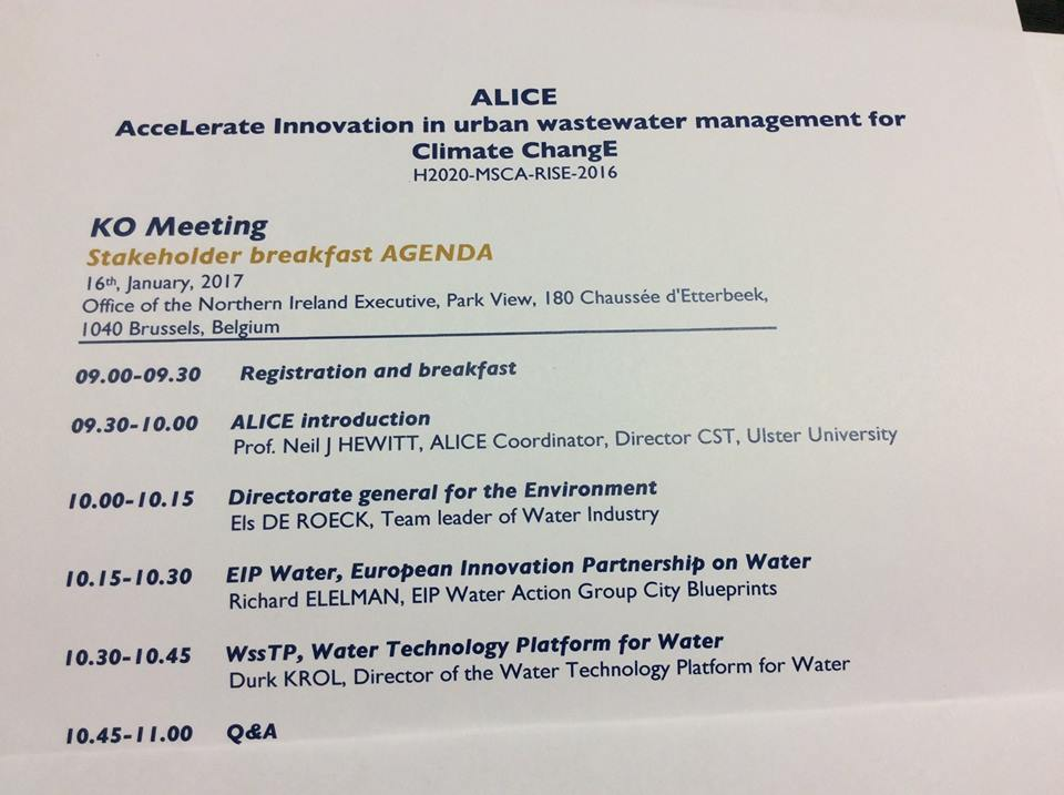 The ALICE project meets stakeholders
